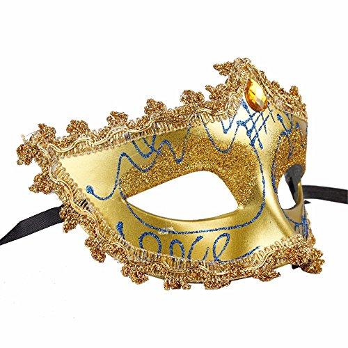 ONE-K Mask Spitze Halloween Maske Maske Maske Maske männliche Maske Weiblich, Spitze ()