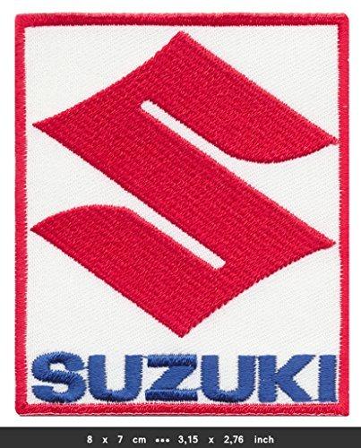 SUZUKI Iron Sew On Cotton Patches Motorcycles Motorbikes Intruder Hayabusa Moto GP SUZ-01 by RSPS (Intruder Patch)