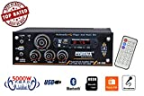 #6: Cortina CE-1020BT 4 Way Home Series Amplifier with FM, USB & Bluetooth - 5000W PMPO