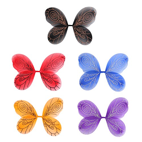 nflügel Schmetterling Fee Flügel Zauberwelt Kinder Mädchenkostüm Feenkostüm (Kleinkind Angel Wings)