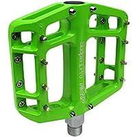 NC-17 Sudpin I Pro Aluminium Plattform Pedale / Fahrrad Pedale MTB / Mountainbike Pedal / BMX Pedal / Kugellager + Cr-Mo Achse / inklusiv Ersatzpins, verschiedene Farben