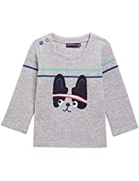 Sergent Major - Sweater - Pull Gris chine Lajilani - Gris chiné