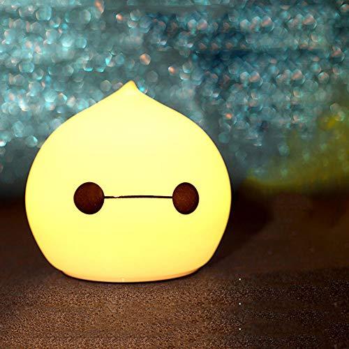 Silicone lumière de nuit légère lumière créatrice pat rêve créatif mini lumière de nuit de charge, contrôle de tir Cool Sprout
