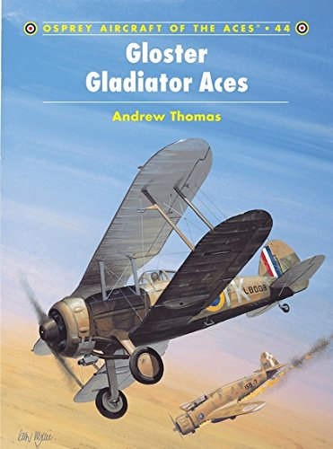 Gloster Gladiator Aces (Aircraft of the Aces) por Andrew Thomas
