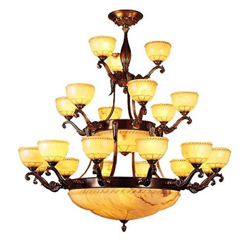 rojo-marron-todo-cobre-lampara-lamparas-de-arana-iluminacion-techo-lampara-lampara-de-marmol-blanco-