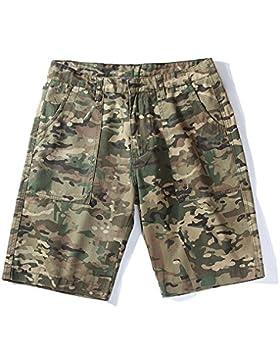 HAIYOUVK Summer Camouflage Men'S Shorts Youth Pocket Men'S Casual Pants Men,170/M,Desert Camo 03,M,Desert Camo