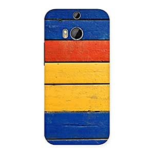 Enticing Wood Decks Back Case Cover for HTC One M8