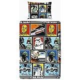 Set Funda Cojín + Funda nórdica STAR WARS cómic NUEVO!! COMPATIBLE CAMA 90 , imagen con personajes Star Wars y pack calcetines marca TIENDADELEGGINGS TALLA 35/40