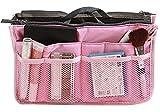 Kuke TheWin, Organizer da Viaggio, Inserto, ordinata Trousse per Cosmetici Rosa Pink Rectangle 1x