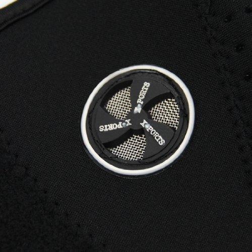 AKORD neopreno cuello cara máscara velo Sport motocicleta Esquí, Negro, talla única