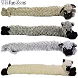 The Magic Toy Shop Novelty Dog Cat Design Soft Micro Fleece Draught Draft Excluder Door Cushion