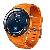 Pour Huawei Watch 2, Y56 Bracelet de rechange en silicone, accessoire élégante sangle de montre nouvelle bande de montre pour Huawei Watch 2 (Orange)