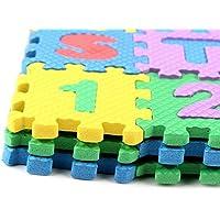 36 piezas Suave Espuma de Eva SEGURO Alfombra juegos aprendizaje Abecedario Número Puzle rompecabezas para bebé para niños GB por Trimming SHOP - Peluches y Puzzles precios baratos