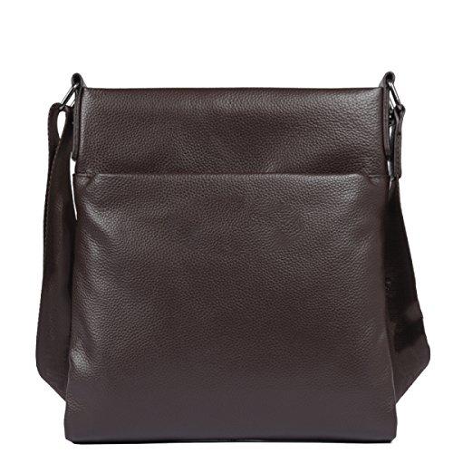 Yy.f Messenger Bag In Pelle Borsa Tracolla Uomo Sacchetto Degli Uomini Primo Strato Di Piccolo Zaino Sezione Verticale In Pelle Business Casual Pacchetto Donde Multicolore Red