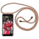 Expatrié Handykette kompatibel mit Samsung Galaxy S10 Bunt Damen Lola Smartphone Necklace Hülle mit Band - Transparente Handyhülle mit Kordel zum Umhängen - Hochwertige Crossbody Handy Kette