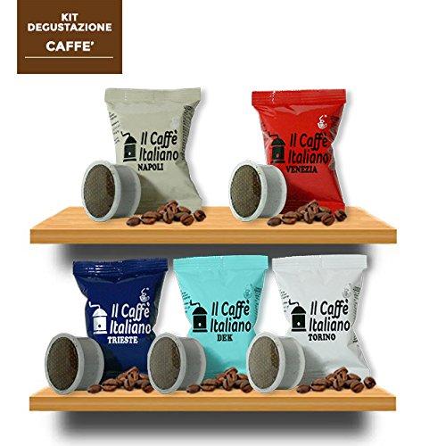 Verkostungsset mit 5 verschiedenen Kaffeesorten - 100 Espresso Point Kompatible Kaffee Kapsen - Il Caffè Italiano - FRHOME
