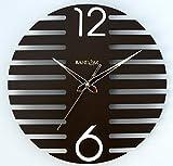 Random Wings Wooden Wall Clock (Brown)