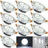 Hengda® 5W LED Einbauleuchten mit Trafo Kabel Einbauspots Stimmungsbeleuchtung Kaltweiß Nicht...