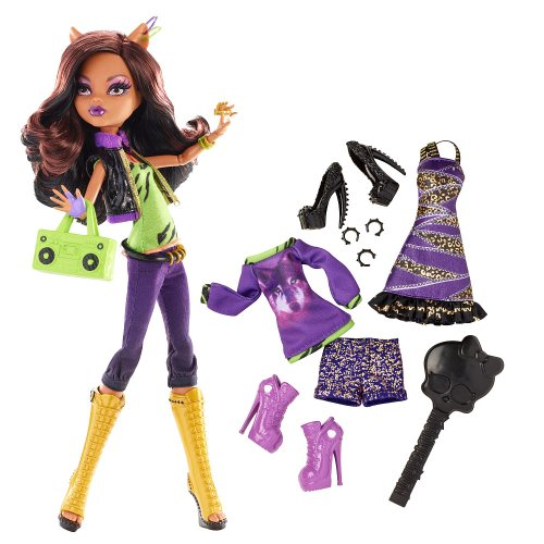 Monster High - Clawdeen Wolf - Fashion Pack inkl. 3 tollen Outfits
