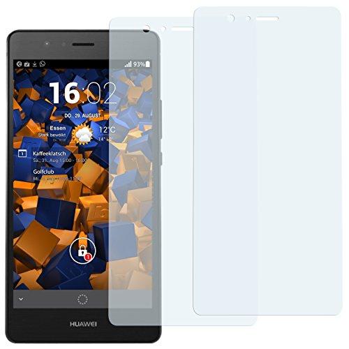 mumbi Schutzfolie kompatibel mit Huawei P9 Lite Folie klar, Bildschirmschutzfolie (2x)