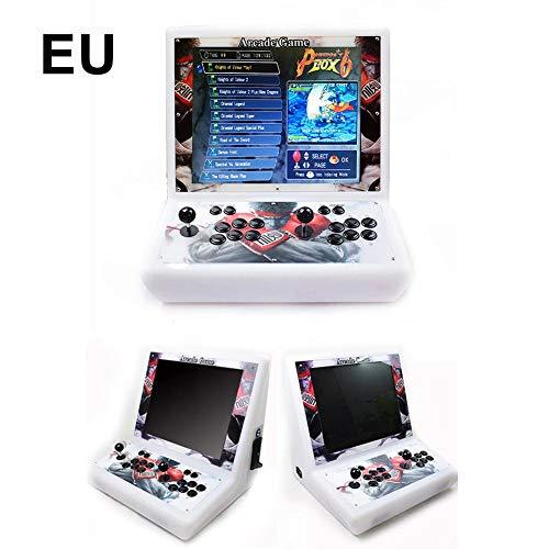 TARTIERY Spielekonsole für Videospiele, Pandora's Box 6 Multiplayer für Zuhause, personalisierte Tasten, Full HD 1280 x 720, erweiterter Prozessor, unterstützt PS3, kompatibel mit HDMI und VGA -