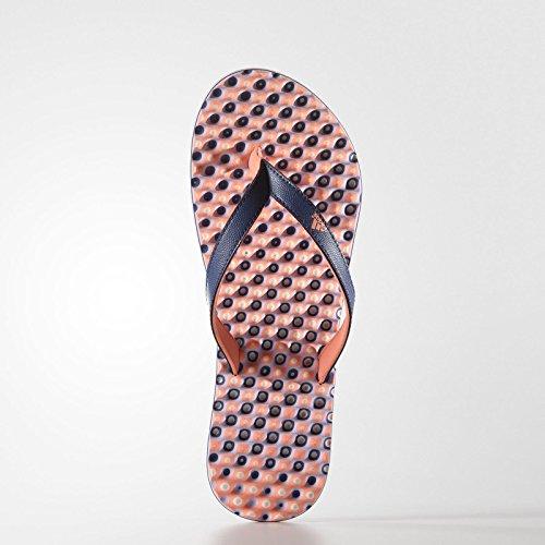 adidas Eezay Dots W, Infradito Donna Multicolore (Gris / Rosa (Mornat / Brisol / Brimor))