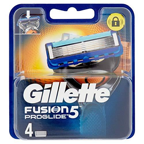 Gillette Fusion Proglide Lame per Rasoio da Uomo, 4 Pezzi