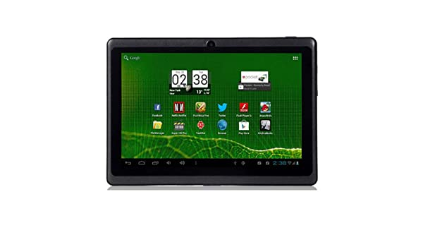 a3253fc10f7ed 7 inch cheap tablet pc Q88 MID Allwinner A13 1.2GHz Capacitive Screen Dual Camera  android 4.0 512MB 4GB wifi+Touch pen + leather case  Amazon.co.uk  ...