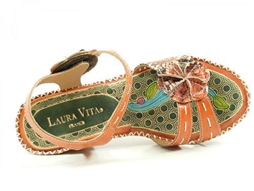 Laura Vita CX083-15 Beignet 15 Sandali donna Orange