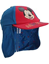 Disney - Gorra en contraste de Mickey Mouse para niños