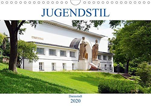 Jugendstil - Darmstadt (Wandkalender 2020 DIN A4 quer): Von der Mathildenhöhe bis zum Hauptbahnhof, Architektur einer vergangenen Epoche. (Monatskalender, 14 Seiten ) (CALVENDO Orte)