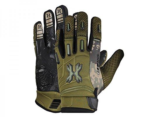 Handschuhe HK Army Pro Gloves Vollfinger Camo oliv, Größe:XL