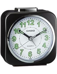 Casio TQ-143-1EF - Reloj despertador (analógico, cuarzo, alarma repetitiva y microlámpara)