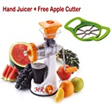 MR Smart Fruit Juicer & Vegetable Juicer Non Electric Hand Juicer With Free Apple Cutter