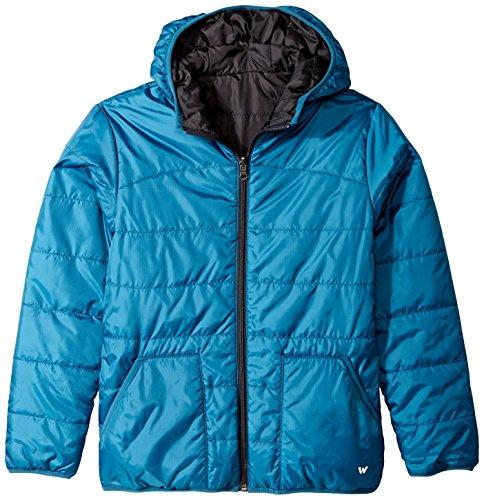 Weiß Sierra Jungen Zephyr Wendejacke, Jungen, Legion Blue (Reversible Down Coat)