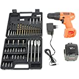 Black & Decker CD121K50 12-Volt Drill/Driver with Keyless Chuck and 50 Accessories Kit