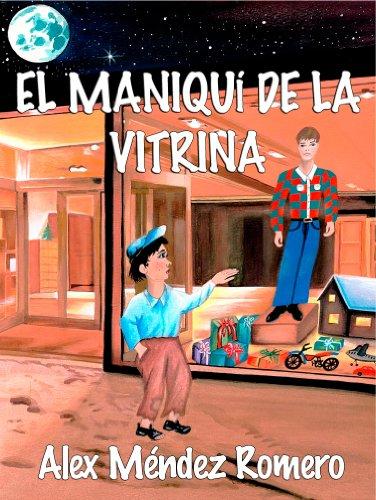 Portada del libro El Maniquí de la Vitrina, una historia triste.