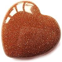 Herz Goldfluss (Kunstglas) 30 mm preisvergleich bei billige-tabletten.eu