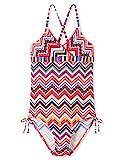 Schiesser Mädchen Aqua Badeanzug, Mehrfarbig (Multicolor 1 904), Herstellergröße: 152