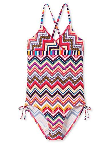 Schiesser Mädchen Aqua Badeanzug, Mehrfarbig (Multicolor 1 904), Herstellergröße: 164