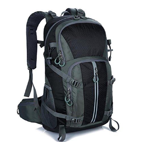Z&N Backpack 40-50L KapazitäT Bergsteigen GepäCk Tasche Outdoor Wandern Unisex Rucksack Laptop Tasche Student Tasche Geeignet FüR Urlaub Reiten Schwimmen Fitness E