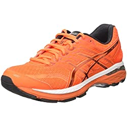 Asics GT 2000-5, Scarpe Running Uomo, Arancione (Shocking Orange/Dark Grey/Spicy Orange), 43.5 EU