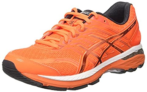 Asics Men's GT-2000 5 Running Shoes, Orange (Shocking Orange/Dark Grey/Spicy Orange), 10.5 UK 46 EU
