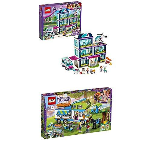 Lego Friends 41318 - Heartlake Krankenhaus + Mias Wohnmobil Cooles Kinderspielzeug Preisvergleich
