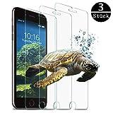 CXDZ Panzerglas Schutzfolie für iPhone 6/iPhone7/iPhone8,[3 Stück] Anti- Kratzer/Bläschenfrei/9H Härte/HD-Klar/2.5D Runde Kante,iPhone 8/7/6 Panzerglasfolie