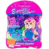 Shanaya Toys 110 Pieces Building Blocks With Stickers For Kids (Multicolor Big Size Blocks)