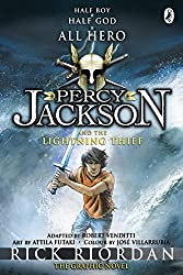 Percy Jackson and the Lightning Thief: The Graphic Novel (Book 1) (Percy Jackson Graphic Novels) by Rick Riordan (2010-11-04)