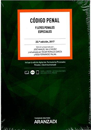 Código Penal (Papel + e-book): y Leyes Penales Especiales (Código Básico)