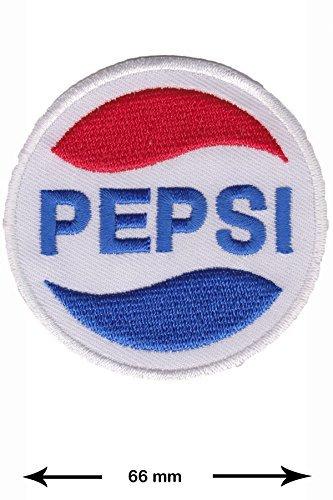 Pepsi rund Getränke Marken Vintage Logo Jacket T-shirt Patch Sew Iron on gesticktes Badge Schild oder Geschenk (Gesticktes Shirt Logo Golf)