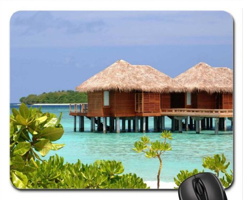sheraton-full-moon-resort-maldives-water-bungalows-mouse-pad-mousepad-beaches-mouse-pad